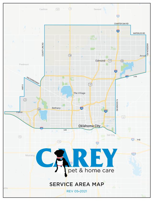 Carey Home and Pet Service Area
